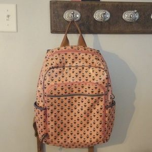 Fossil owl backpack